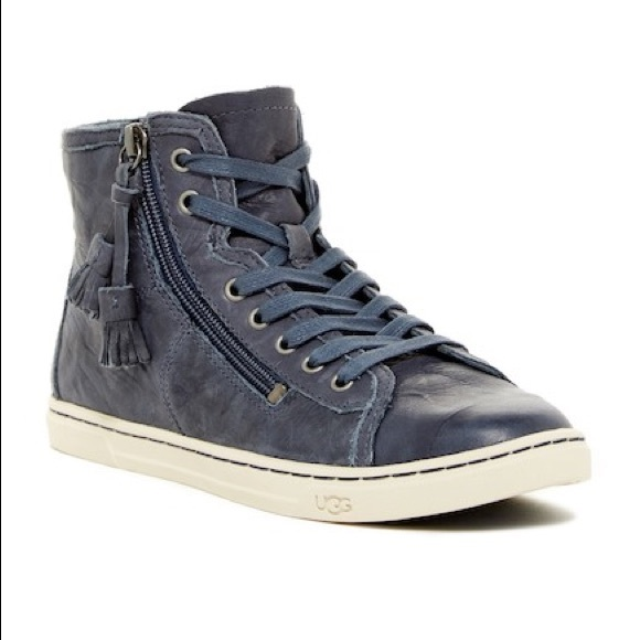 ff77aa1e6b4 UGG Blaney Leather High Top w/ tassels